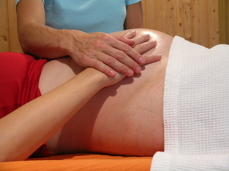 Schwangerschaftsmassage
